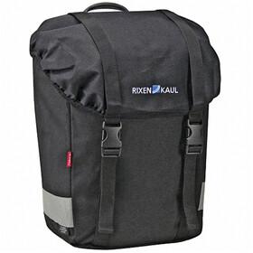 KlickFix Classic Lowrider Luggage Carrier Bag, black